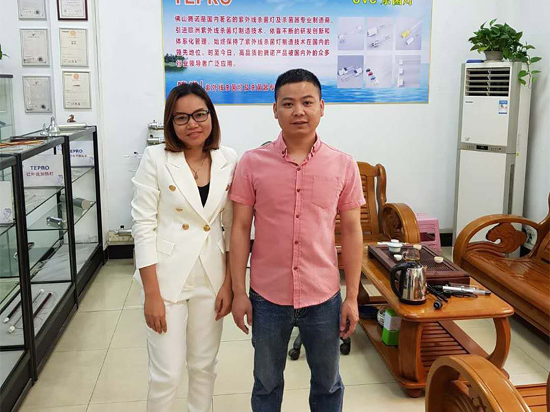 Tepro-Manufacturer Of Uv Germicidal Lamp For Home | Thai Guests Visiting