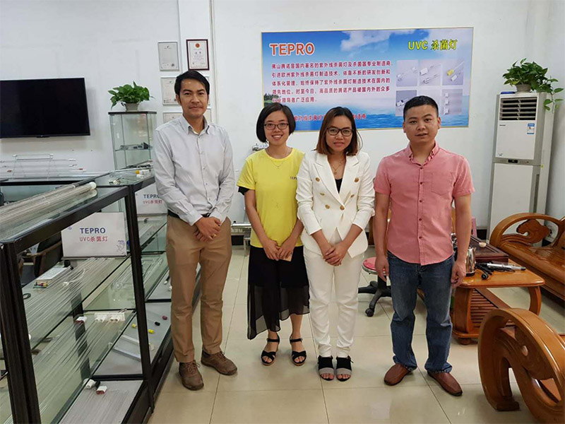 Tepro-Manufacturer Of Uv Germicidal Lamp For Home | Thai Guests Visiting-1
