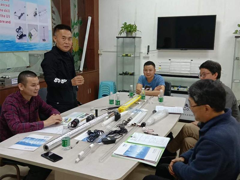 Tepro-High-quality Ultraviolet Water Sterilizer | Korea Guests Visiting