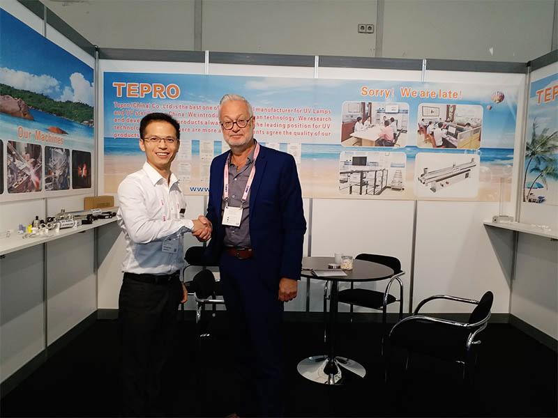 Tepro-Read Aquatech Amsterdam News On Tepro Uv Lamps