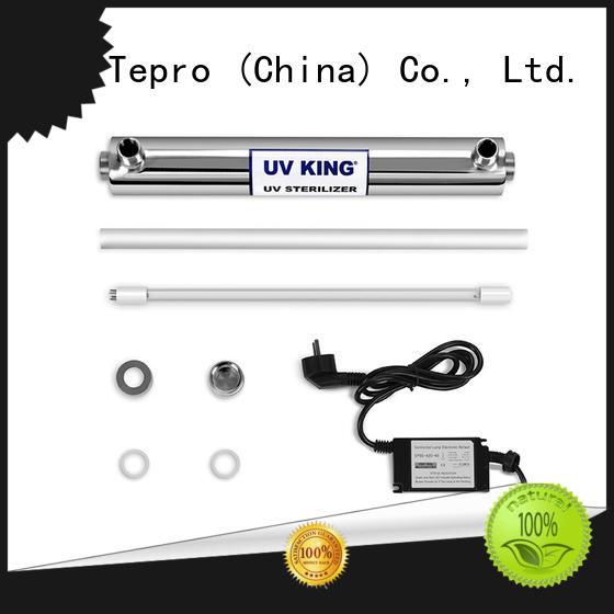 Tepro steel submersible uv light customized for aquarium