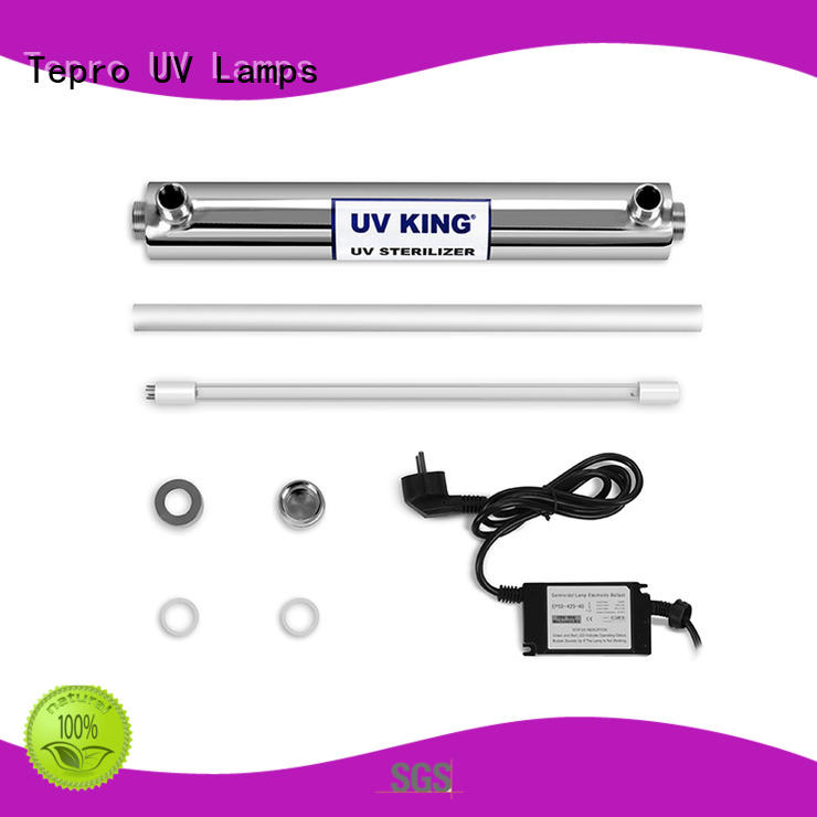 bulbs single uvc lamp stainless Tepro company