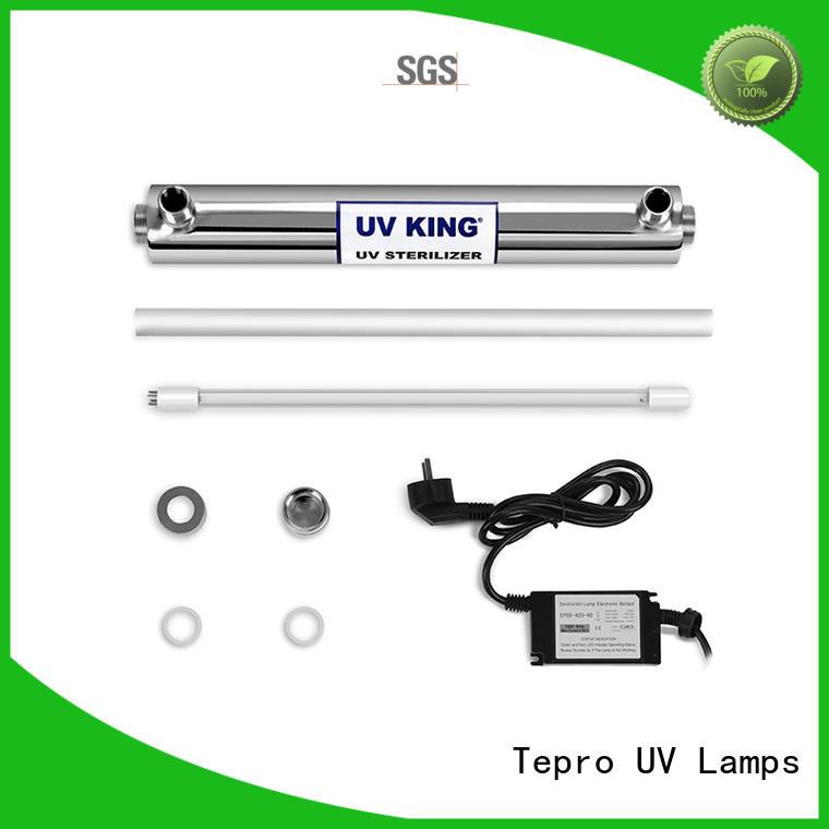 bulb uvc lamp pins food Tepro company