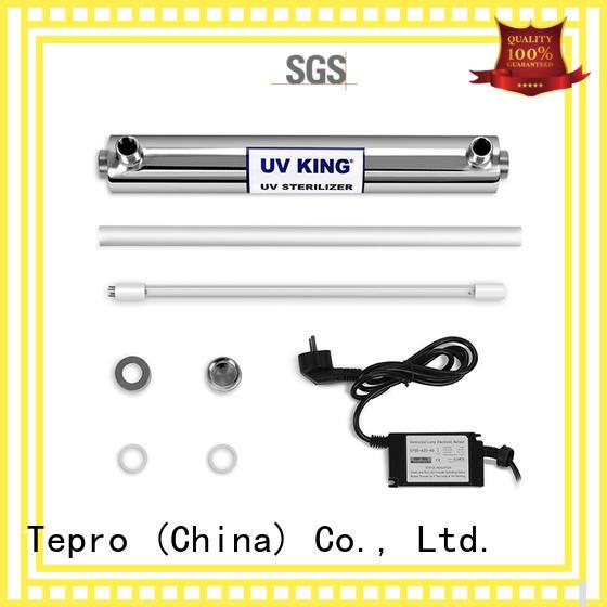 Tepro Brand single doubleend wastewater amalgam uv lamp submersible