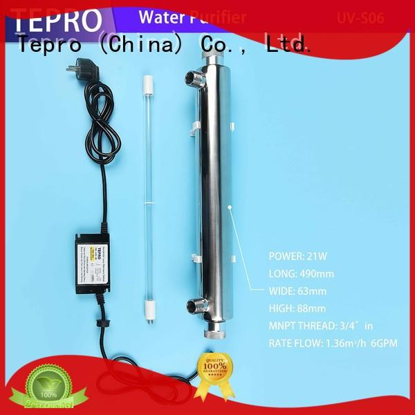 Tepro sterilizing reptile uvb light design for pools