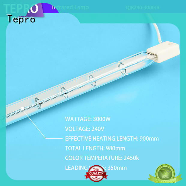 Tepro standard infrared healing lamp manufacturer for factory
