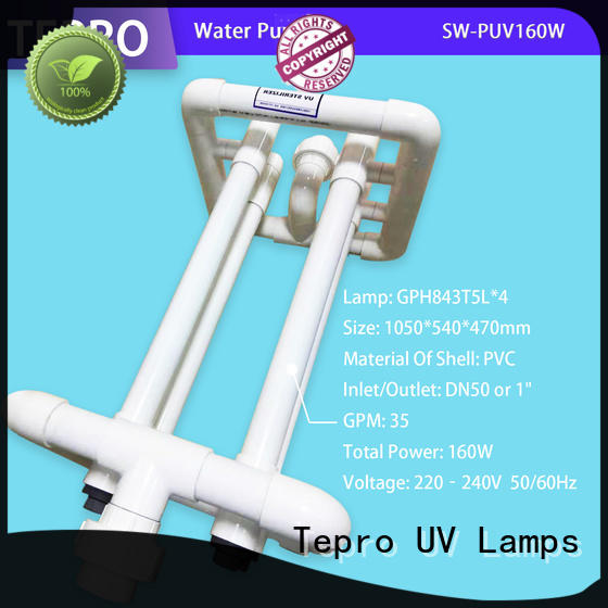Tepro uv water purification supply for pools