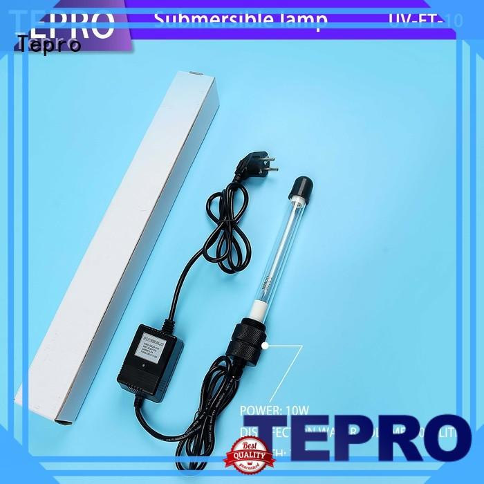 submersible germicidal lamp double ends design for hospital