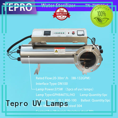 Tepro professional ultraviolet water purification system factory for aquarium