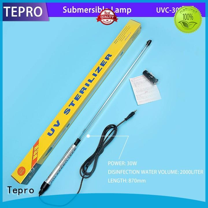 Tepro submersible bactericidal lamps customized for aquarium
