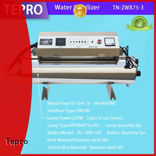 Tepro single pin uv c light bulb manufacturer for hospital
