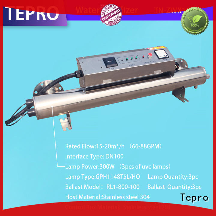 Tepro uv water filter system factory for pools