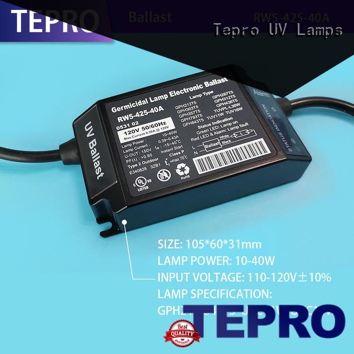 Tepro bactericidal germicidal lamp manufacturer for fish tank