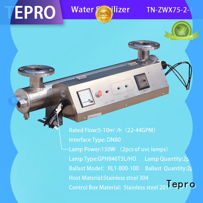 Tepro uv water filtration system factory for pools