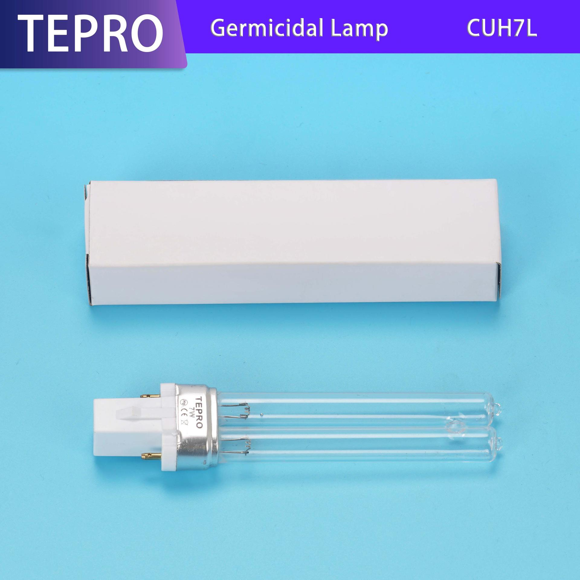 12mm Uv Germicidal Lamp H Type CUH7L Manufacturers