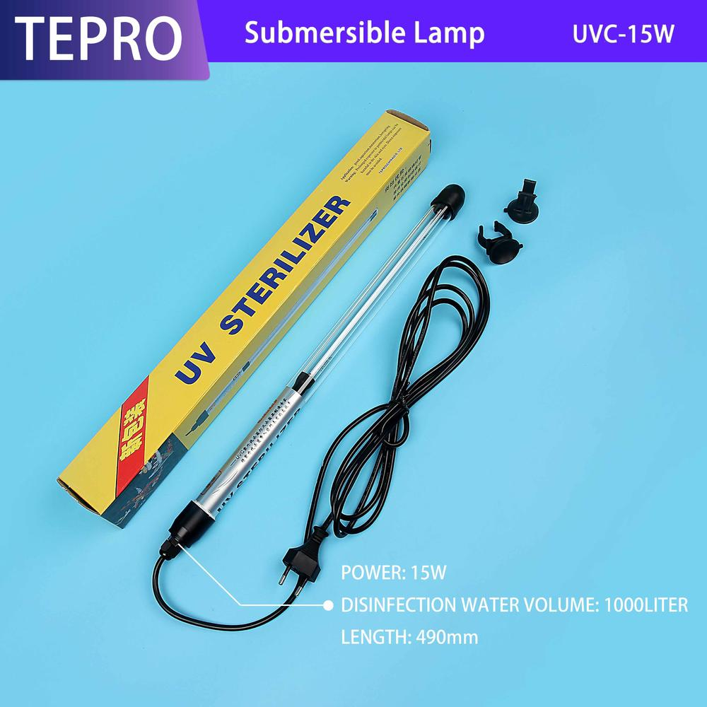 Ultraviolet Water Purifier for Immersed Type Aquarium Fish Farming
