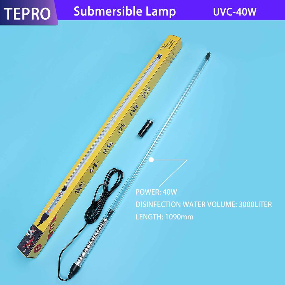 Fishpond Germicidal Lamp Water Treatment 1090mm Power 40W UVC-40W