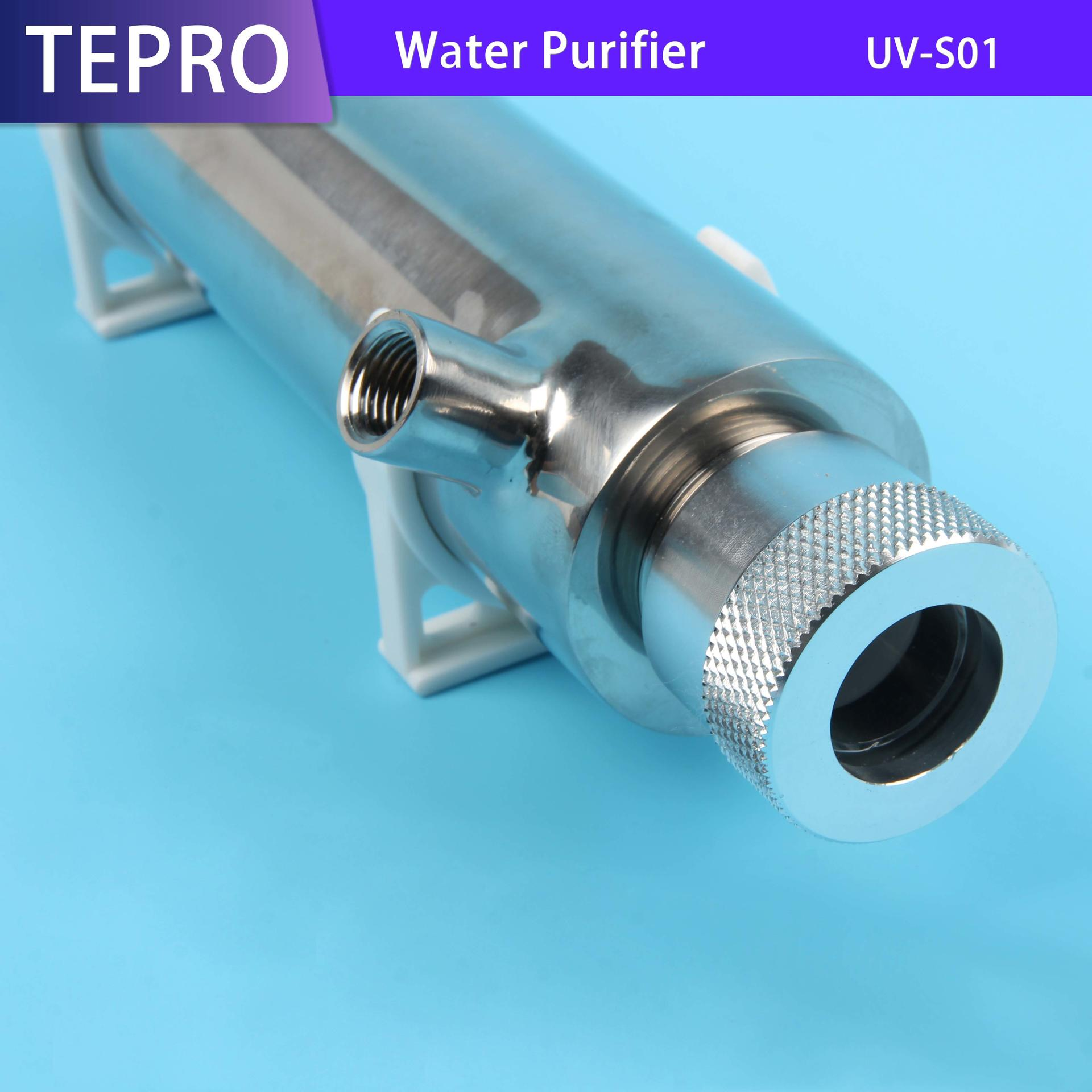 Drinking Water 1GPM CE RoHS  Stainless Steel UV-S01