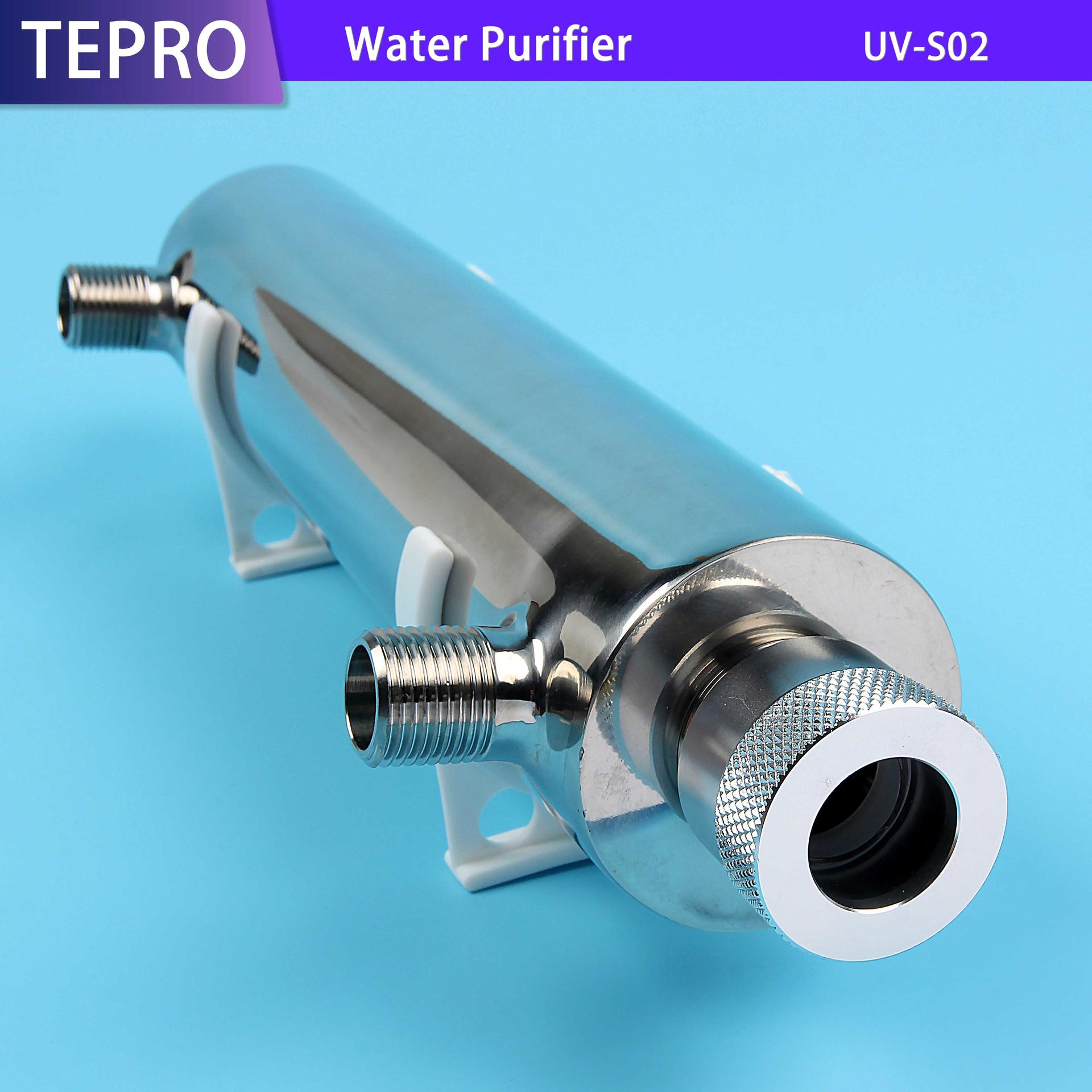 Water Purifier For RO System 0.45Tons/h  2GPM UV-S02