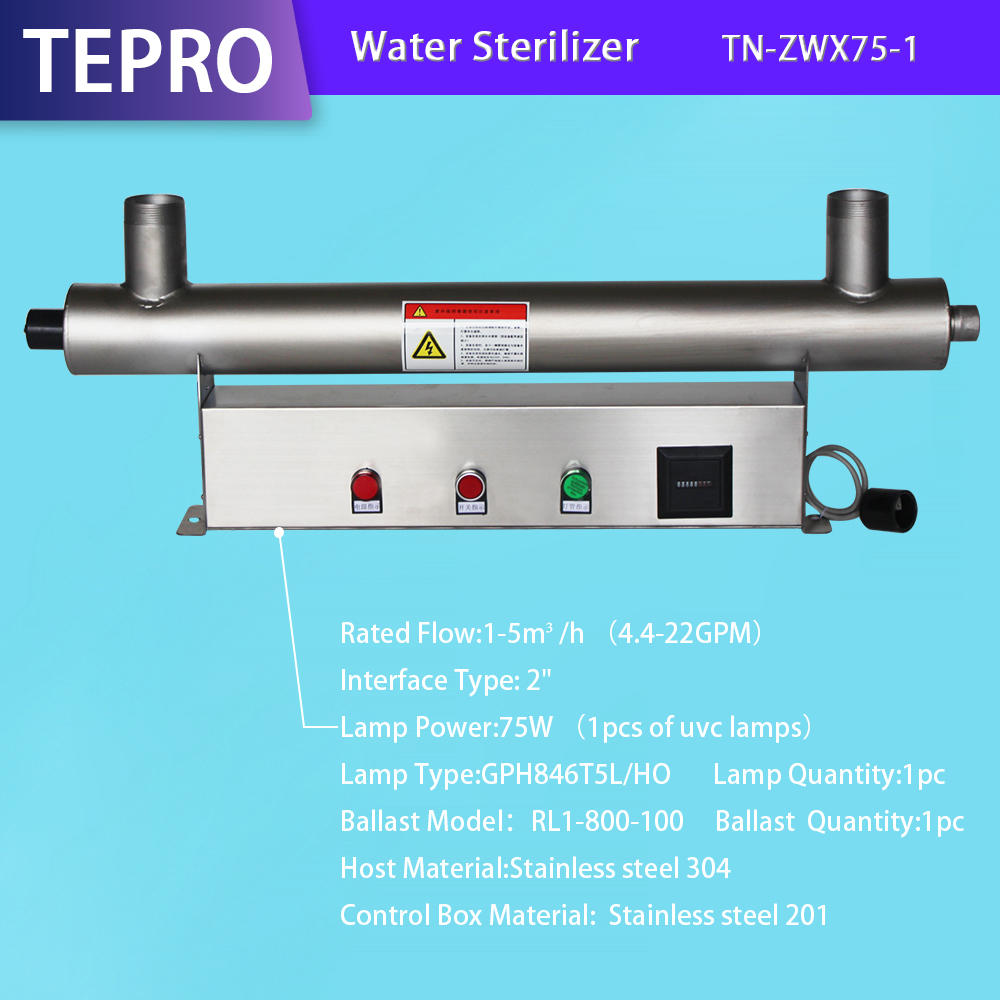 Uv Purification System Factory Wholesale 75W