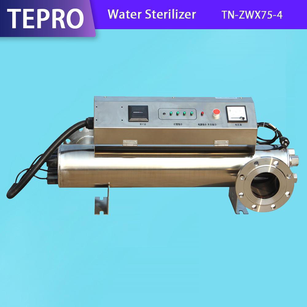 UV Sterilizer Power 400W UVC Sterilizer lamps TN-ZWX75-4