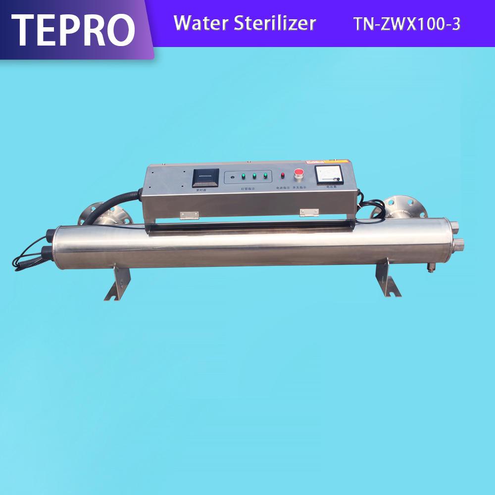 Uv Water Treatment Equipment  DN100 300W TN-ZWX100-3