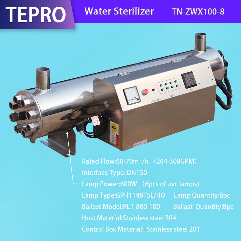 UV Water Treatment Electronic Control Box  TN-ZWX100-8