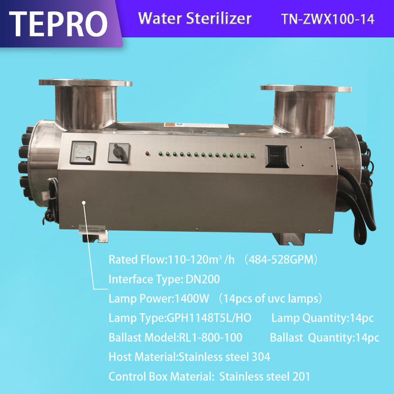 Ozone Ultraviolet Light Water Purifier For Swimming Water Purification