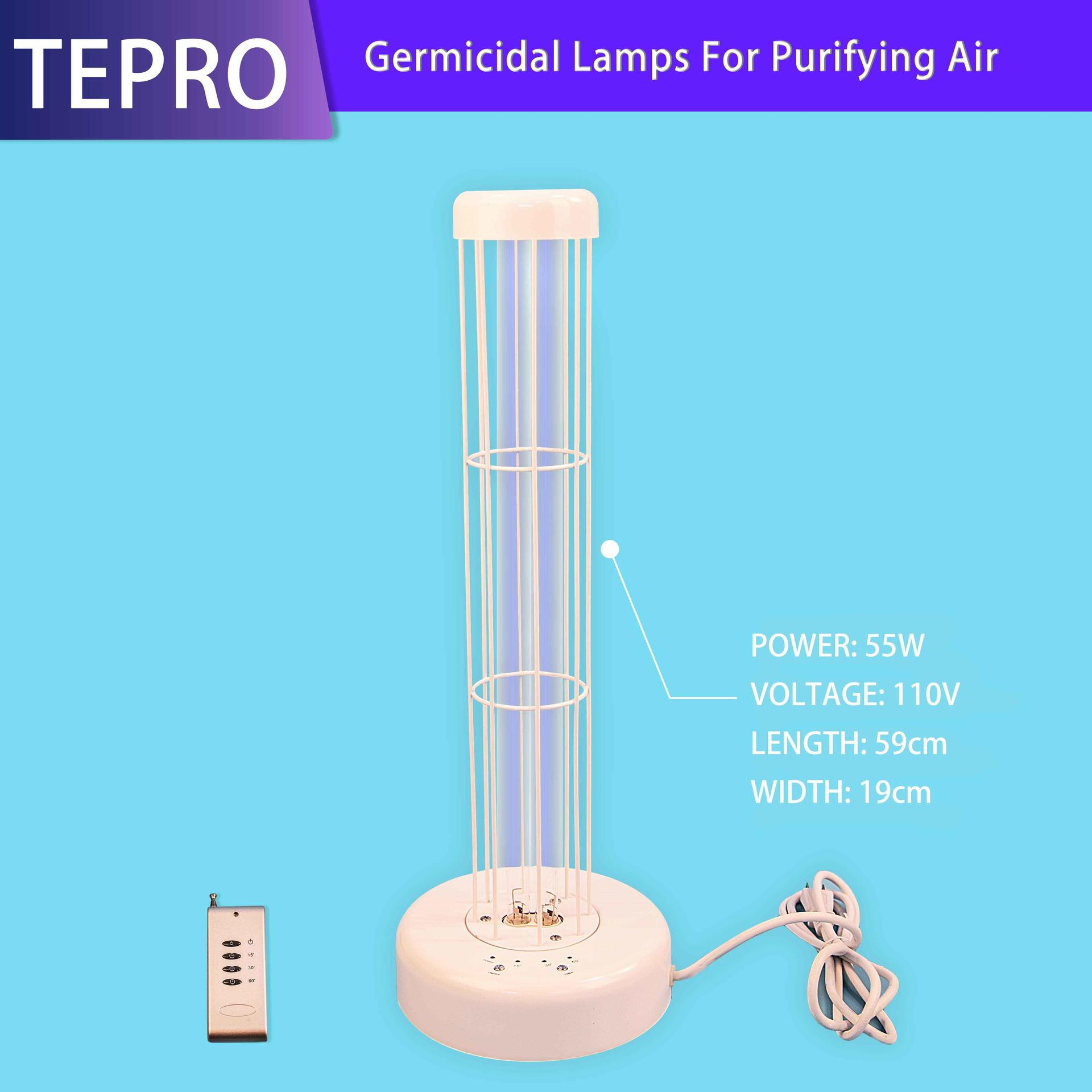 185nm Ozone 55W Air Sterilizing Lamp UVC-55W-A