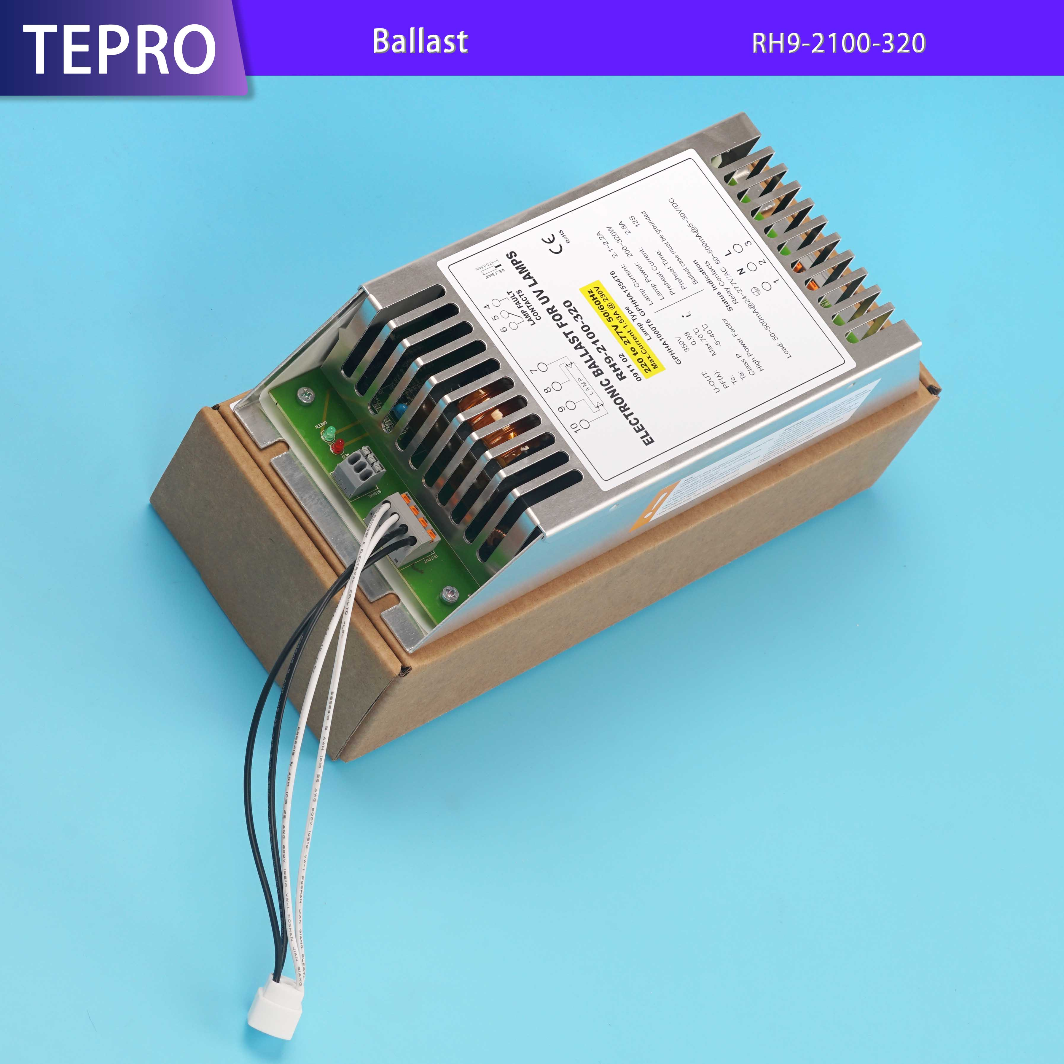 Tepro 4 pins uv air filter design for pools-Tepro-img