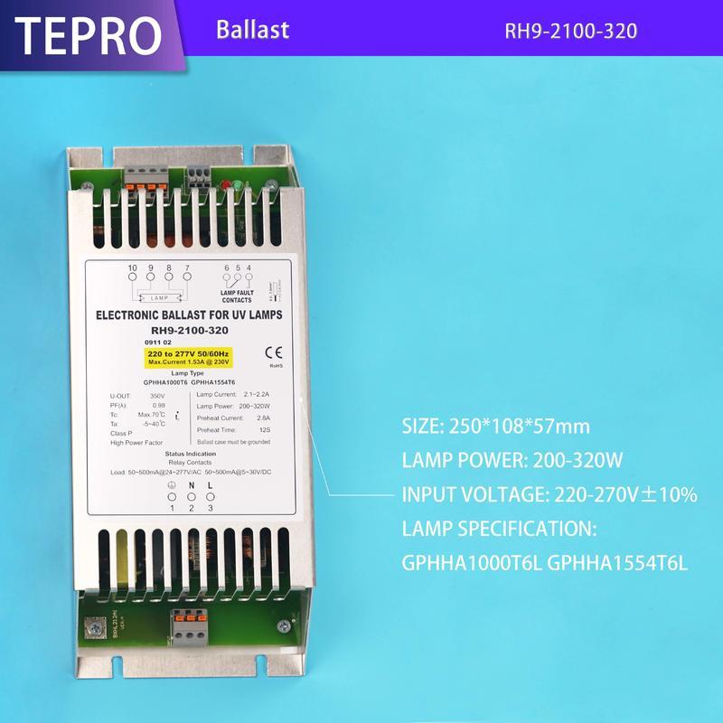 UV Electronic Ballast  320W RH9-2100-320