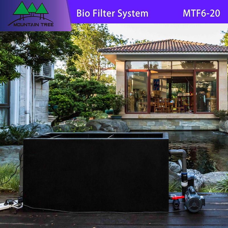 Uv Air Filter Bio Filter System Fish Tank MTF6-20