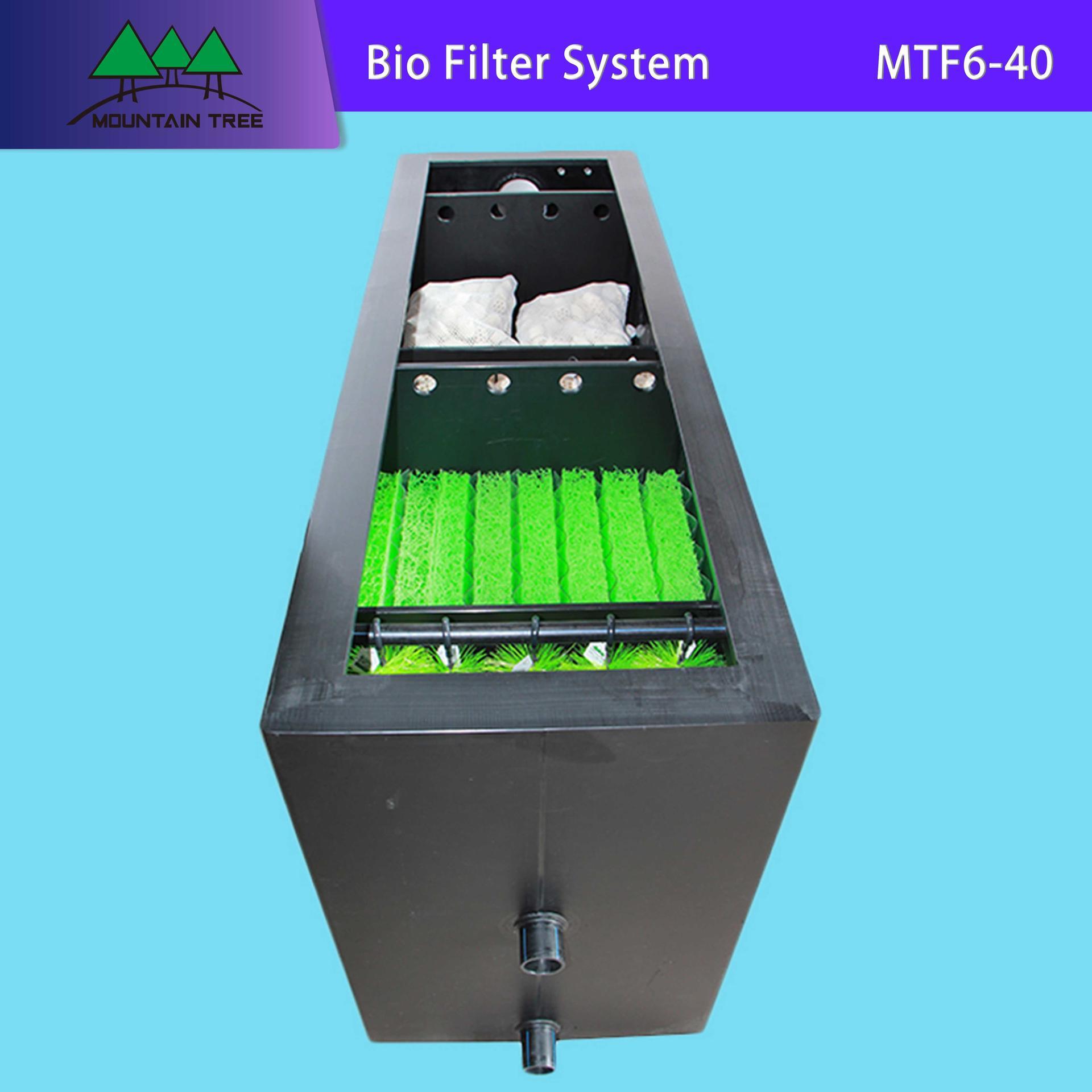Uv Light Disinfection Bio Filter System MTF6-40
