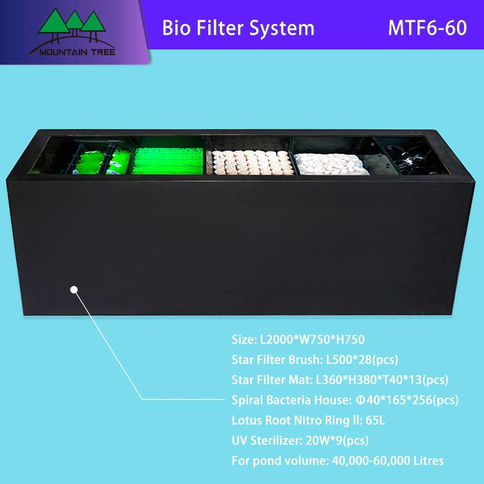 Uv Sterilizer Bio Filter System MTF6-60