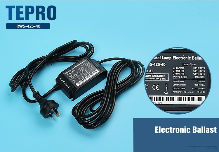 Tepro-Rw5-425-40-tepro Uv Lamps-1