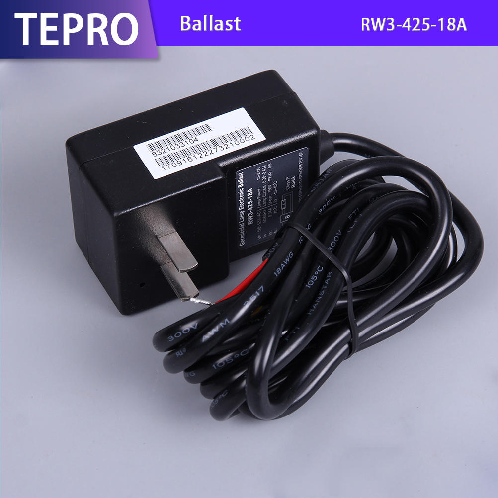 Air Conditioning Germicidal Lamp Uv Light Ballast RW3-425-18A