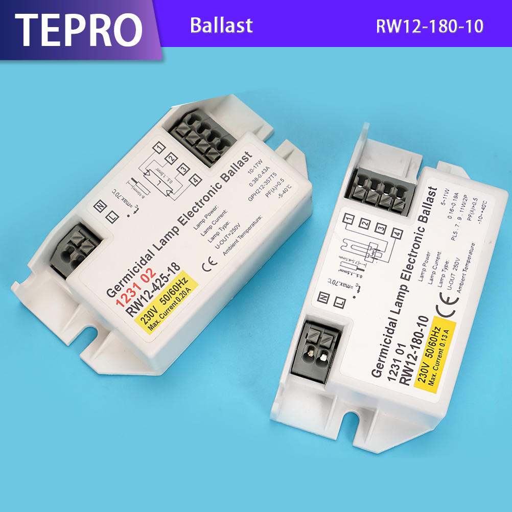 High Quality UVC Lamp Electronic Ballast RW12-180-10