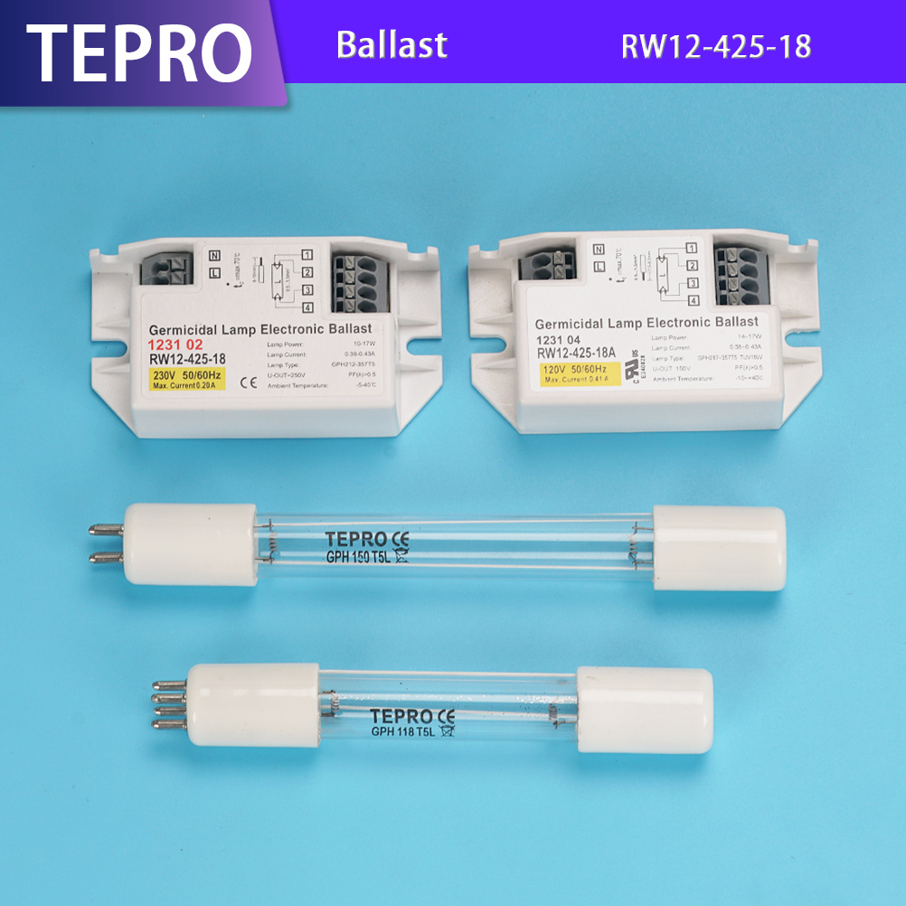 Tepro best uv ballast model for factory-Uv Lamps-Water Treatment Equipment-Uv Sterilizer-Tepro-img