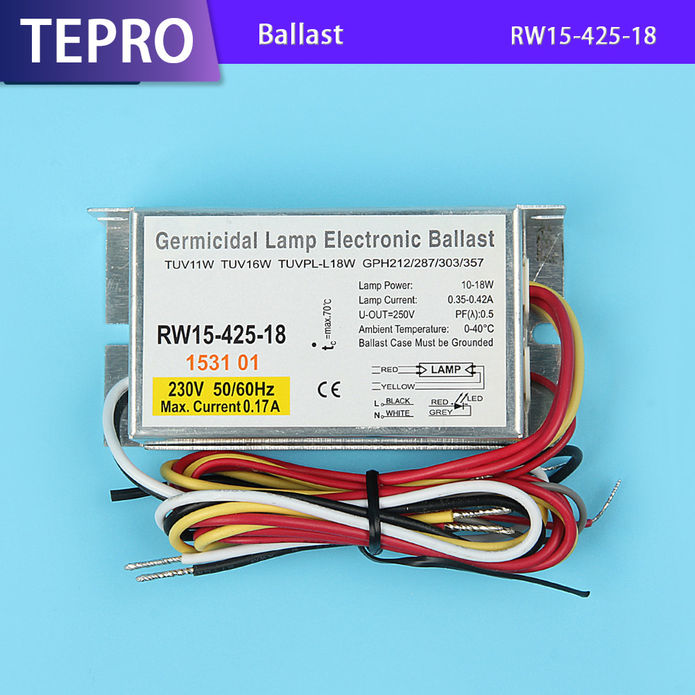 Tepro uv lamp ballast system for laboratory-Tepro-img