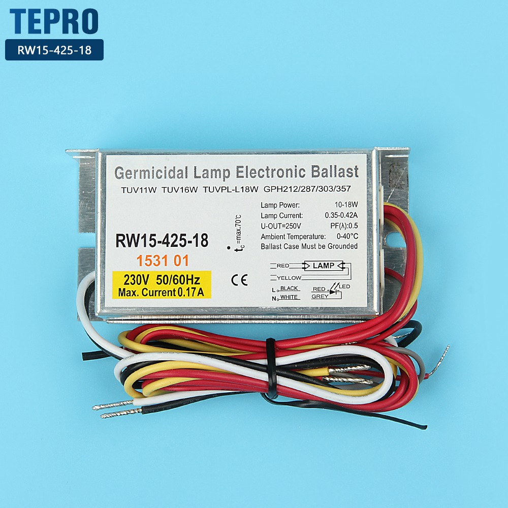 Tepro rw1218010a uv lamp ballast circuit suppliers for factory-2