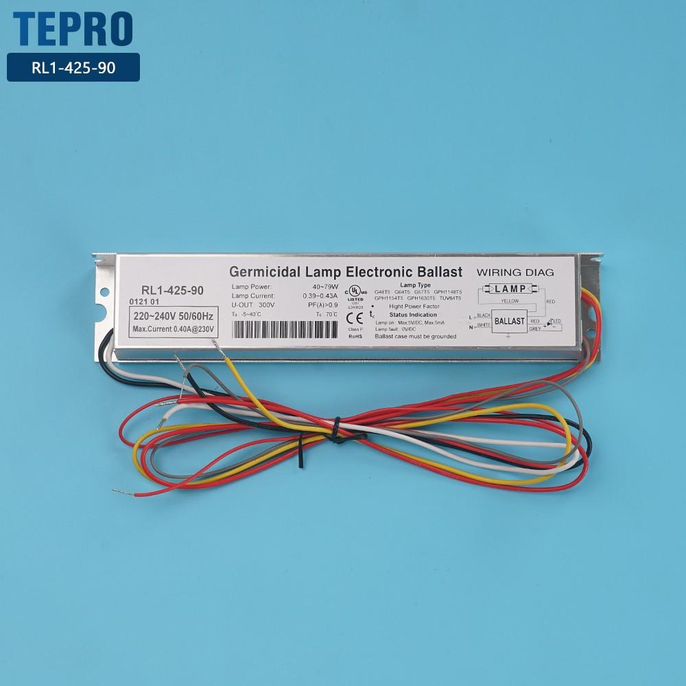 Tepro-Rl1-425-90-tepro Uv Lamps