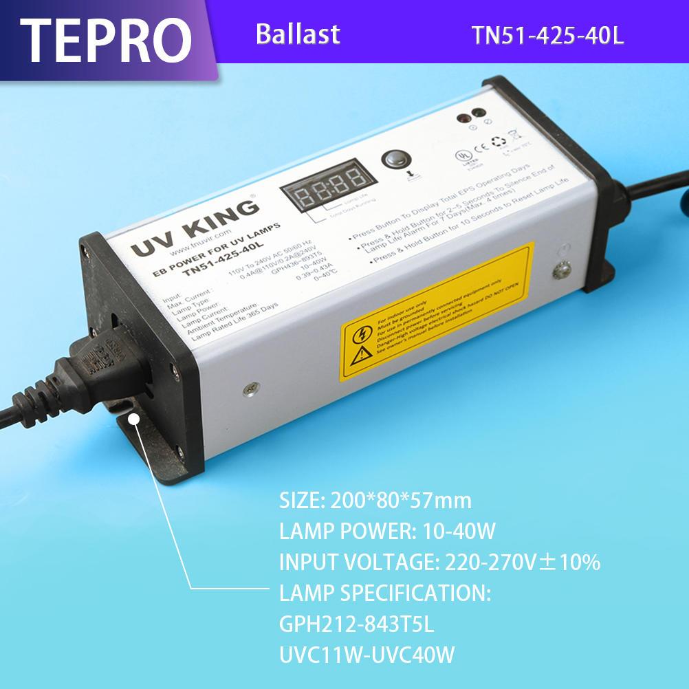 Digital Display Ultraviolet Lamp Ballast TN51-425-40L