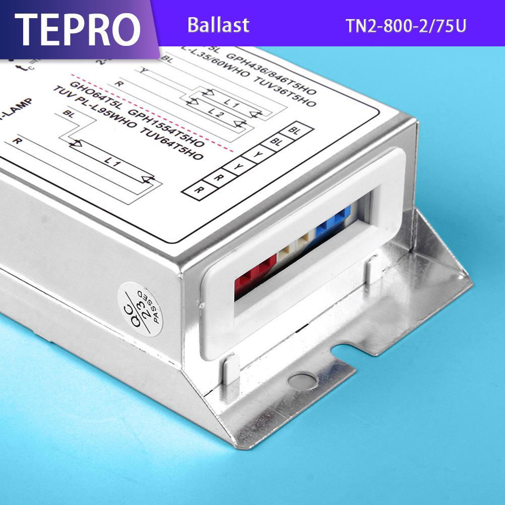 Infrared Heat Lamp Electronic Ballast 110/220V TN2-800-2/75U