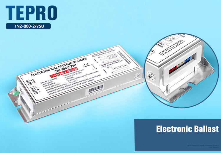 Tepro High-quality electronic ballast for uv lamp supply for fish tank-2
