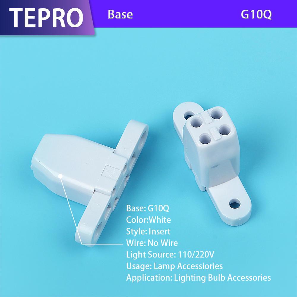 Uvb and Heat Lamp Plastic Holder G10Q