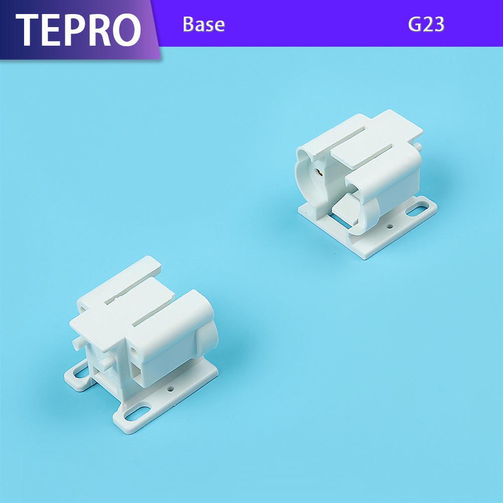Ultraviolet Radiation Lamp G23 White Plastic Lamp Holder