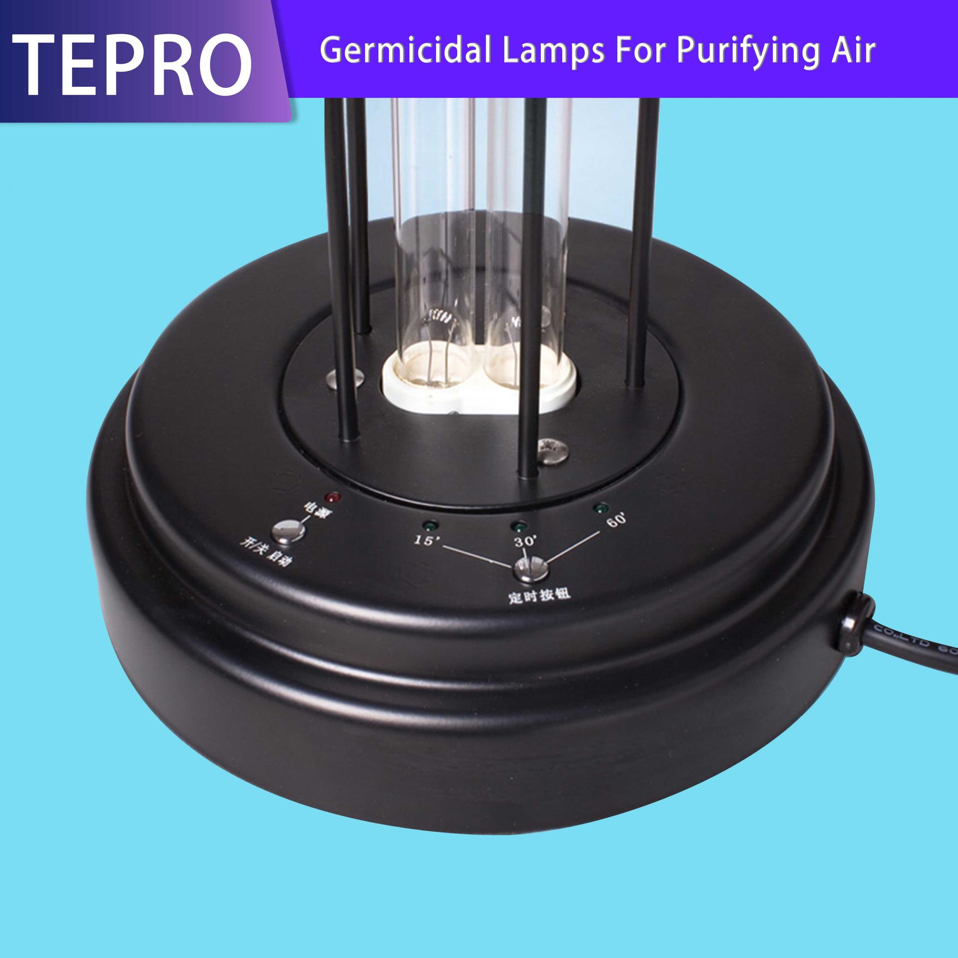 Air Sterilizing Lamp 55W Working Temperature -20 to 80℃