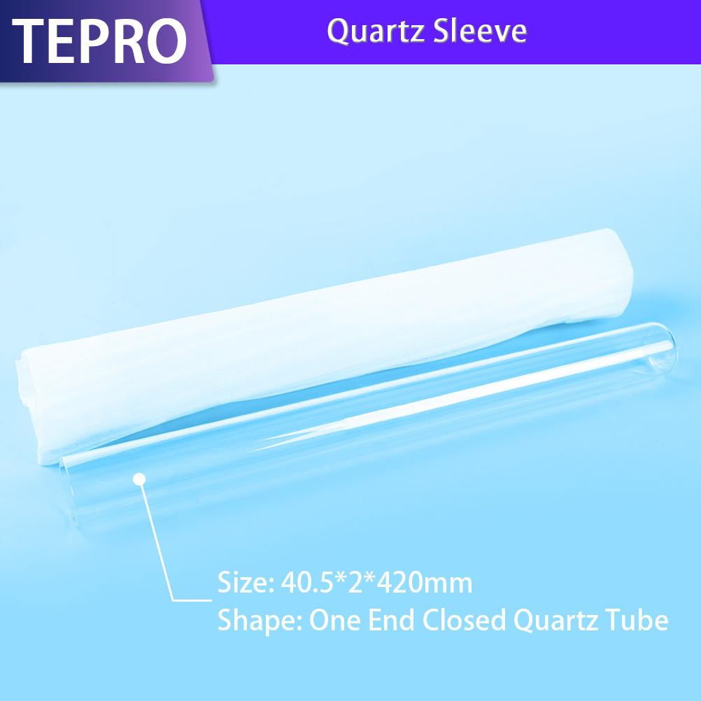 UV Lamp High Hardness One End Closed Quartz Tube
