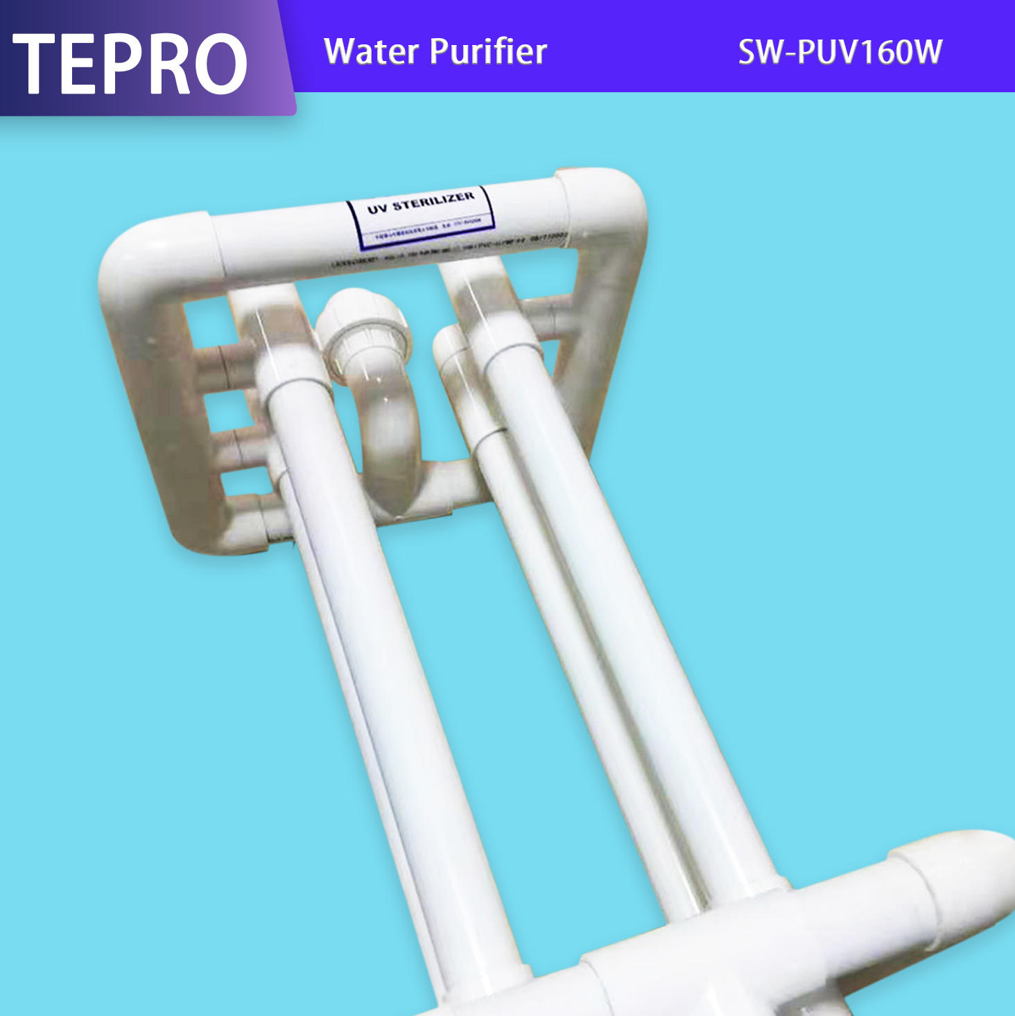 Large Capactity Aquaculture Over-Flow Uv Water Treatment SW-PUV160W