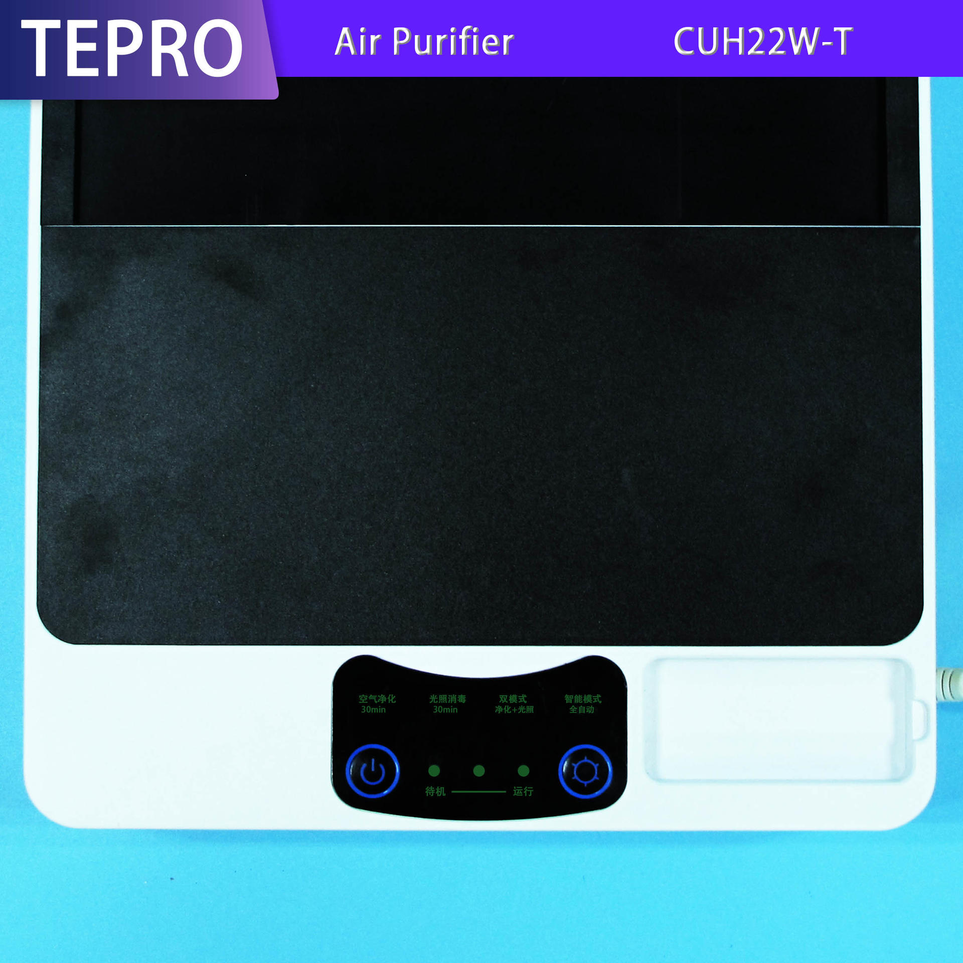 Professional Ozone Uv Air Purifier CUH22W-T